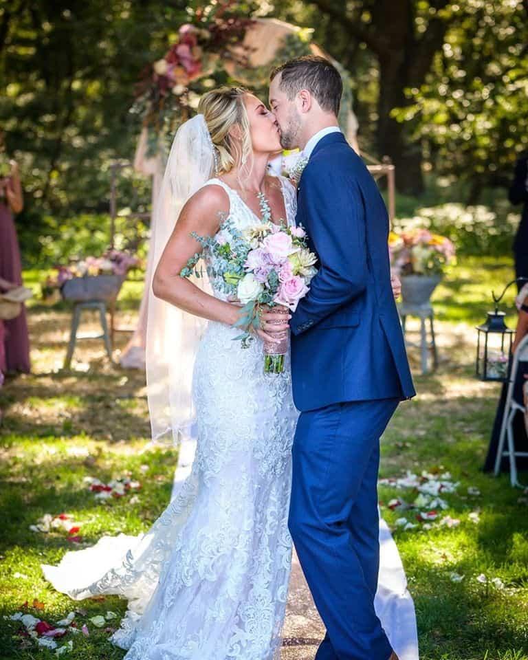 wedding at fulton valley farms
